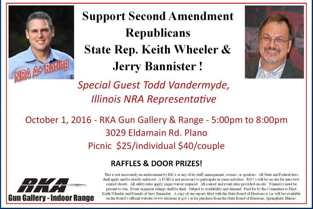 Wheeler & Bannister host event supporting the Second Amendment