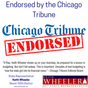 Chicago Tribune Endorses Keith Wheeler