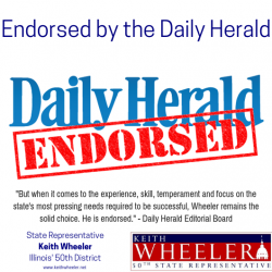 Daily Herald Endorses Keith Wheeler
